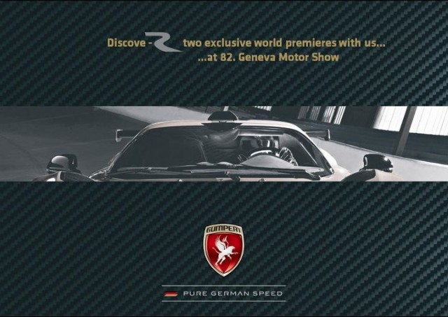 Gumpert planning two concepts for the 2012 Geneva Motor Show