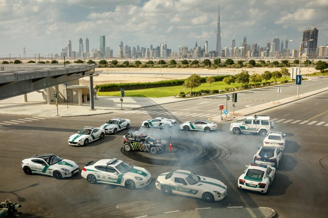 Gymkhana Eight set in Dubai