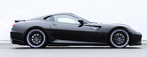 Hamann Ferrari 599GTB with 673 bhp