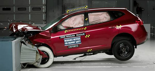 Handful of small SUVs earn top marks in latest IIHS crash test