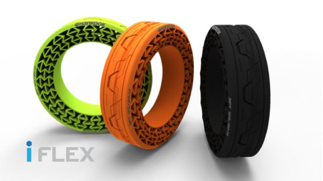 Hankook iFlex Non-Pneumatic Tire