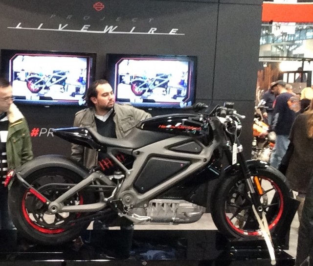 Ny Motorcycle Show Sole Electric Is Harley Davidson Livewire