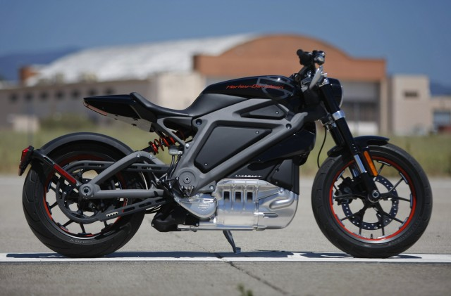 Harley Davidson Livewire Electric Motorcycle Concept