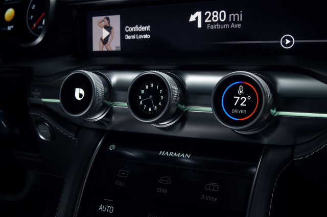 Harman shows digital dashboard with 5G connectivity at CES