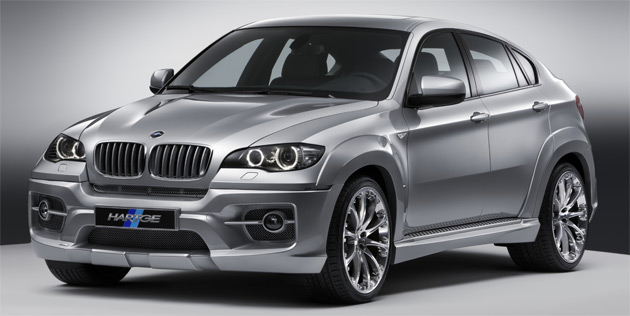 The latest kit is highlighted by an aggressively styled front bumper inspired by the unit on BMW's own X6 M