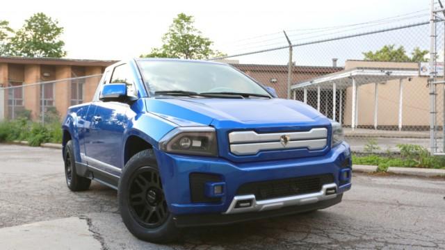 Havelaar Bison electric pickup truck
