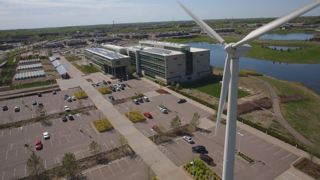 Headquarters of Great River Energy, Maple Grove, Minnesota [photo: Great River Energy]