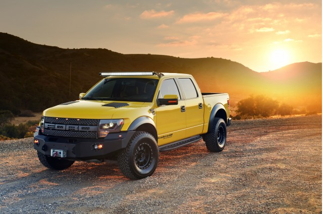 Hennessey VelociRaptor 600 used in Top Gear