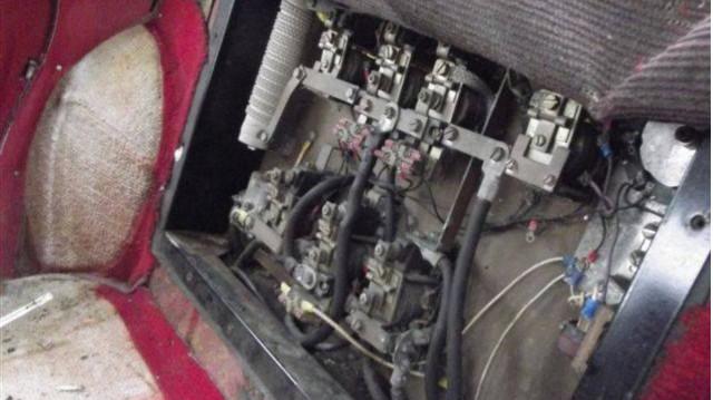 Henney Kilowatt switch panel [for sale on Hemmings]