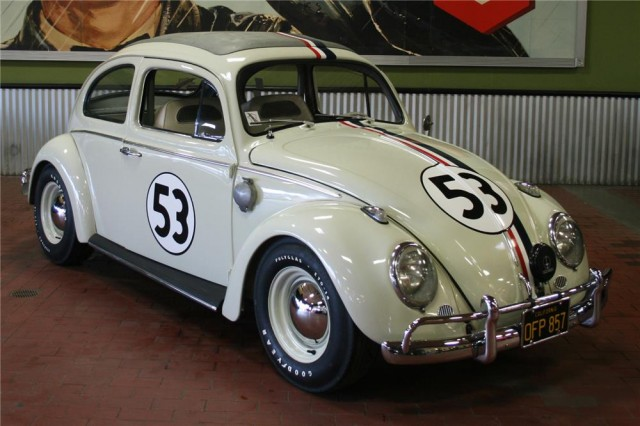 Herbie movie car auction