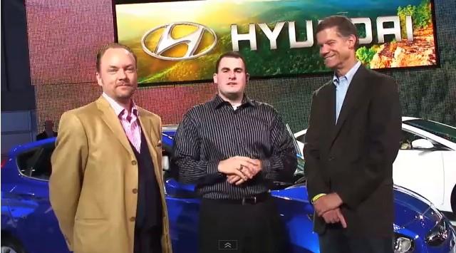 High Gear Media Contest Winner Interviews Hyundai Spokesman