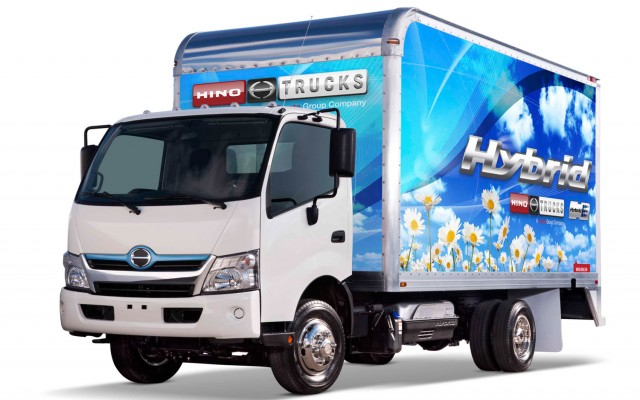 Hino 195h Sel Electric Hybrid Cl 5 Cab Over Engine Truck