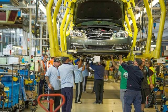 Holden vehicle plant in Elizabeth, South Australia