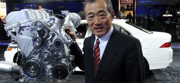 Takeo Fukui, Honda's CEO makes no bones about a price war with Toyota