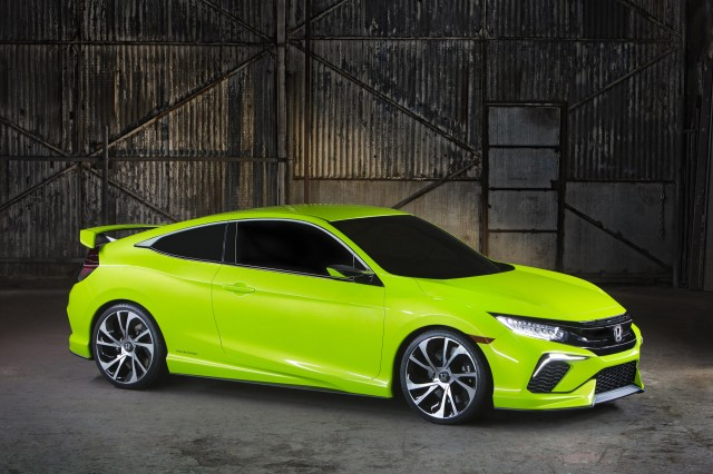 Honda Civic Concept, 2015 New York Auto Show