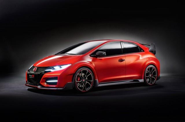 Honda Civic Type R concept, 2014 Geneva Motor Show