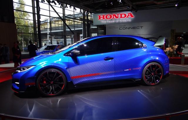 Honda Civic Type R concept, 2014 Paris Auto Show