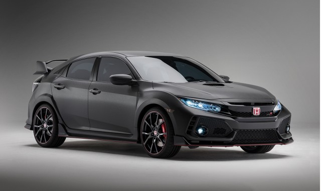 honda civic type r prototype to appear at 2016 sema show. Black Bedroom Furniture Sets. Home Design Ideas