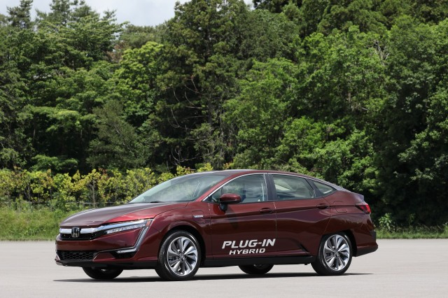 Honda Clarity Plug-In Hybrid at Honda R&D Center, Tochigi, Japan, June 2017