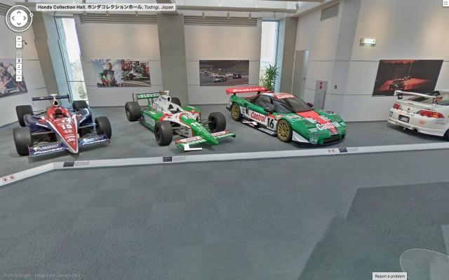 Honda Collection Hall virtual tour