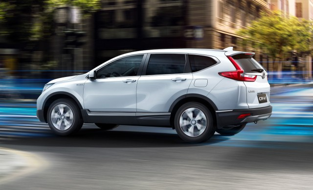 Honda Crv Hybrid >> Honda Cr V Hybrid Bows In Shanghai Nearly Confirmed For Us