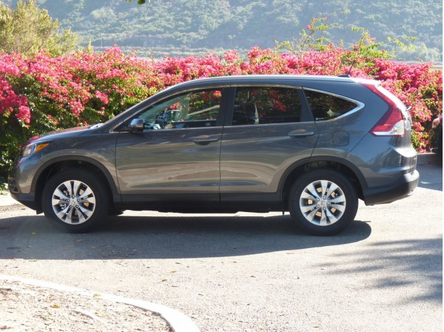 2012 Honda CR-V  -  First Drive