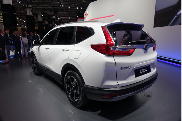 honda cr v hybrid to launch in europe still no word on us. Black Bedroom Furniture Sets. Home Design Ideas