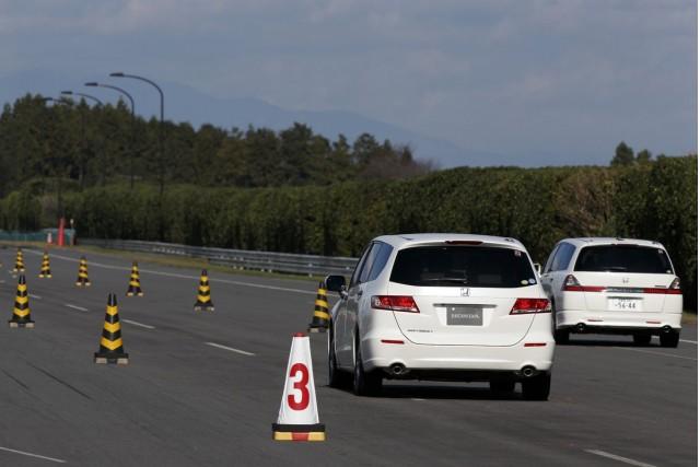 Honda demonstrates Green Wave technology - Japan, 11/2012