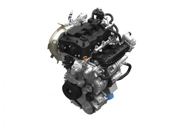 Honda direct-injected and turbocharged 1.0-liter three-cylinder VTEC engine