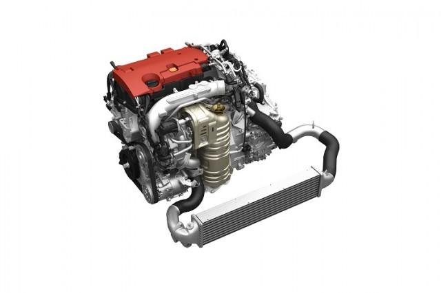 Honda direct-injected and turbocharged 2.0-liter four-cylinder VTEC engine