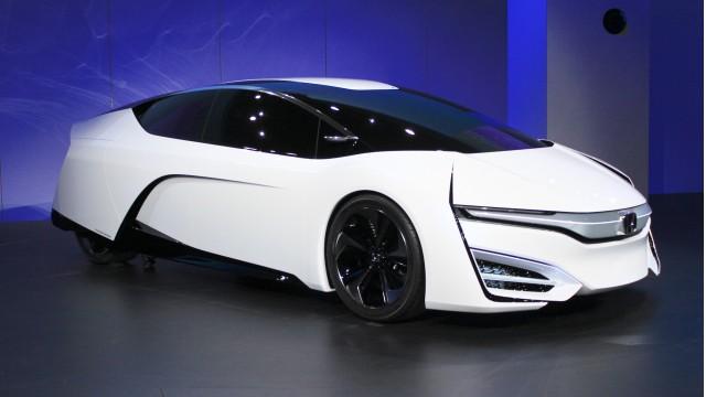 Honda FCEV Concept, 2013 Los Angeles Auto Show