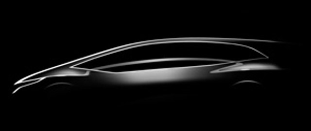 Honda Hatchback Concept teased ahead of 2012 Beijing Auto Show