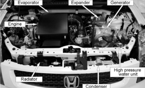 Honda Investigating Rankine Cycle To Power Hybrids