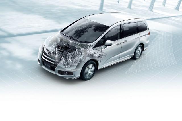 Honda Odyssey Hybrid Anese Model