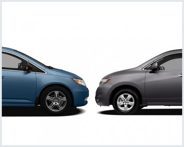 Honda Odyssey Vs. Nissan Quest