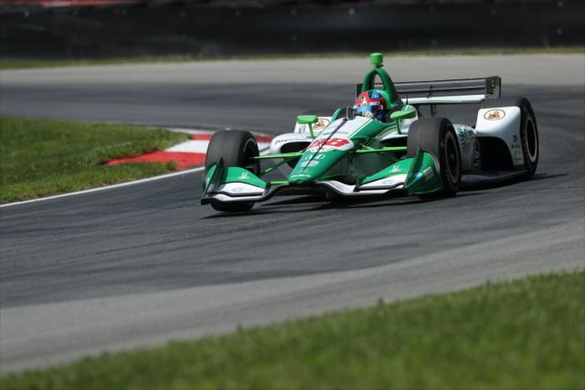 Honda-powered IndyCar at Mid-Ohio, July 2019 (Source: IndyCar)