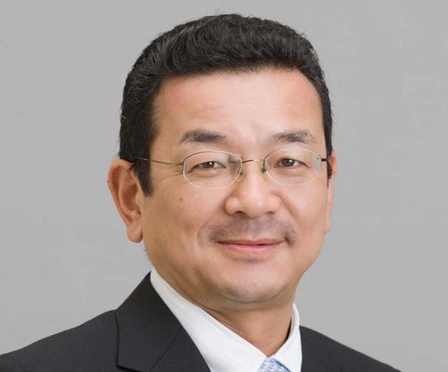 Honda president and CEO Takahiro Hachigo