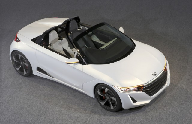 Beautiful Honda S660 Concept, 2013 Tokyo Motor Show