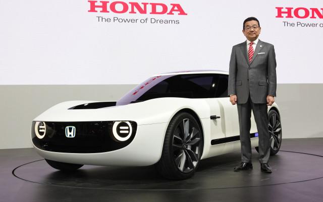 Honda Sports Ev Concept 2017 Tokyo Motor Show