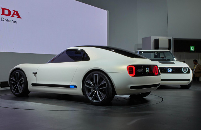 Honda S Second Electric Car Concept Is Sports Ev Coupe Unveiled In Tokyo