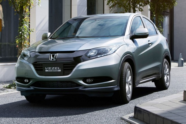 Honda Vezel (Japanese version)
