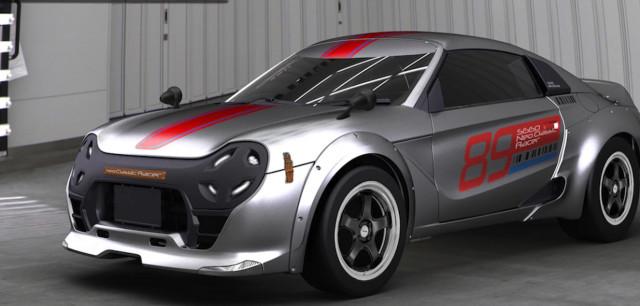 Honda S660-based Neo Classic racer concept