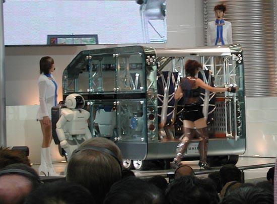 Honda unibox concept 2001 Tokyo