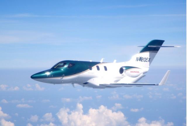 HondaJet aircraft takes its maiden flight
