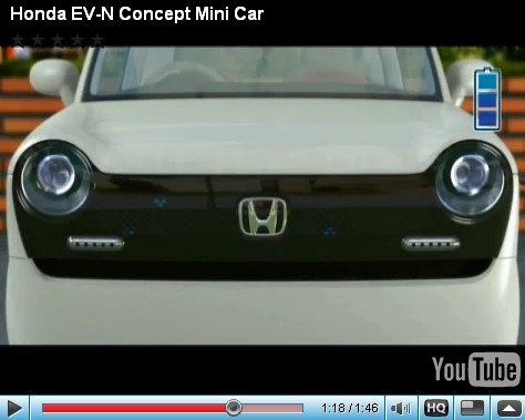 Honday EV-N concept [video screencap]