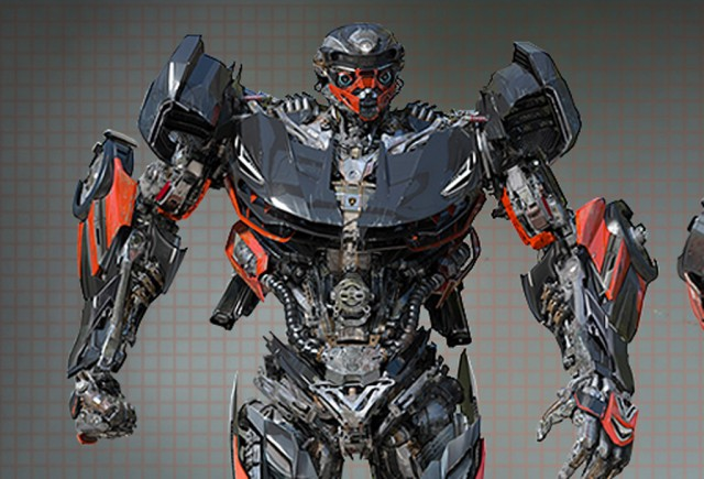 Hot Rod from 'Transformers: The Last Knight'