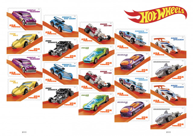 Hot Wheels Th Anniversary Stamps M