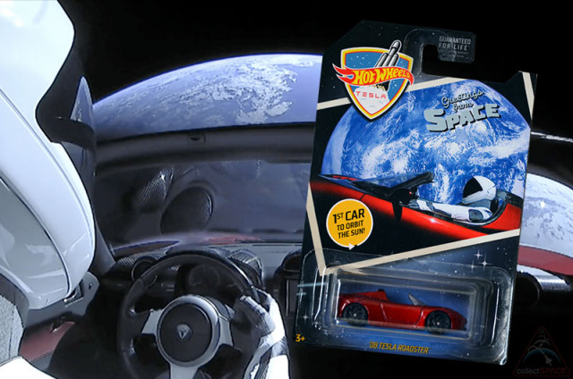 Hot Wheels Tesla'Starman car