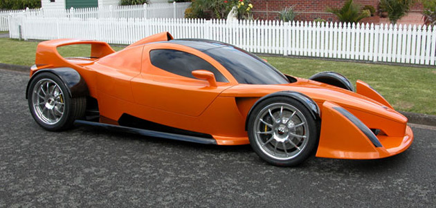 The Hulme Can Am Supercar derives its power from a GM-sourced LS7 V8