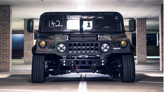 Mil-Spec Automotive Hummer H1 track build